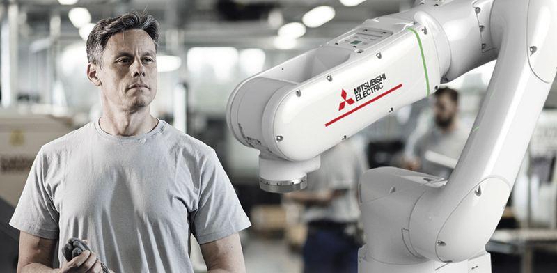 Индустриален колаборативен робот MELFA Assista на <strong>Mitsubishi</strong> <strong>Electric</strong>