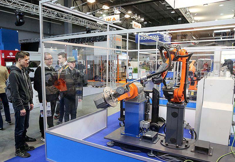 Изложението за <strong>индустриална</strong> <strong>роботика</strong> Stom-ROBOTICS се завръща през октомври 2021 г.